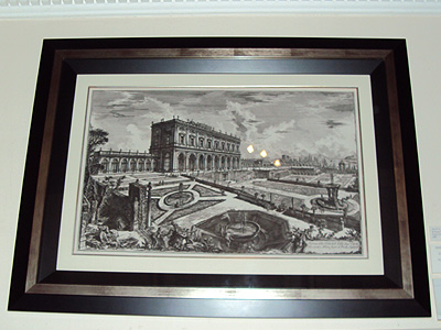 View of the Villa Albani, Rome<br/>Giovanni Battista Piranesi<br/>Engraving First Strike